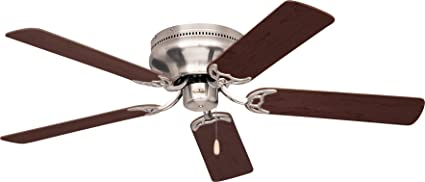 Emerson Ceiling Fans CF805SBS Snugger 52 Inch Low Profile Ceiling Fan (Hugger  Ceiling Fan