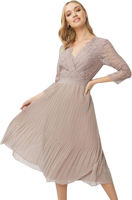 Little Mistress Leonora Oyster Lace Sweetheart Bardot Dress Vestido Fiesta Mujer