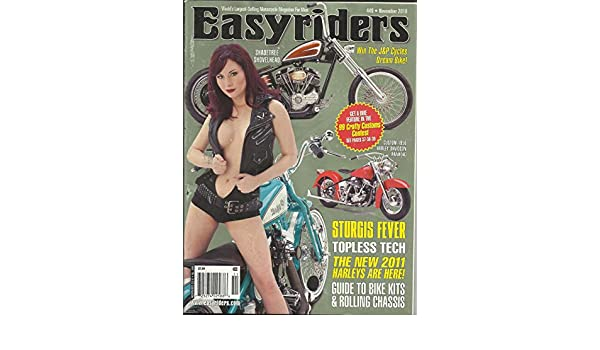 Easyriders Magazine November 2010 Sturgis Fever, Custom 1956 Harley