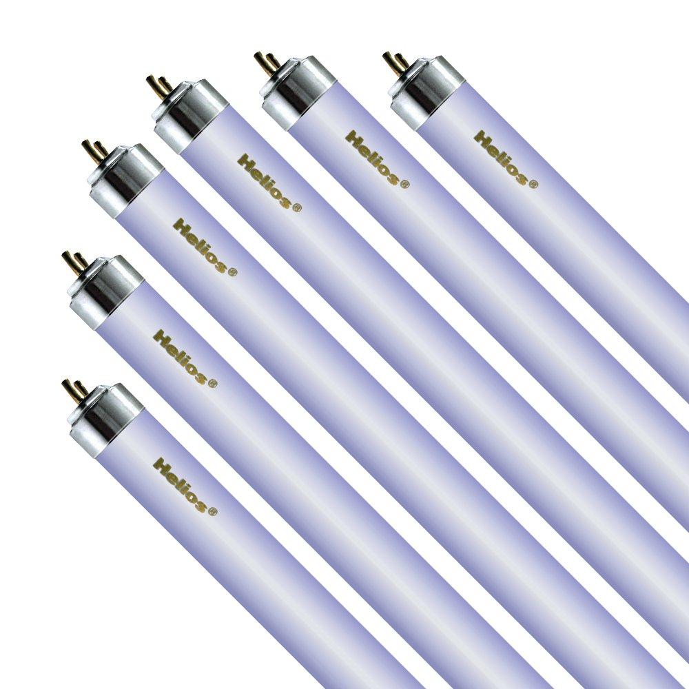 Helios T6 24-Inch Actinic Combo Aquarium Lights, 20-watt, 6-Pack