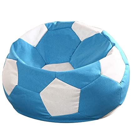 Marvelous Amazon Com Couches Chairs Soccer Bean Bag Chair Single Lazy Inzonedesignstudio Interior Chair Design Inzonedesignstudiocom