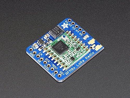 Adafruit (PID 3072) RFM95W LoRa Radio Transceiver Breakout - 868 or 915 MHz