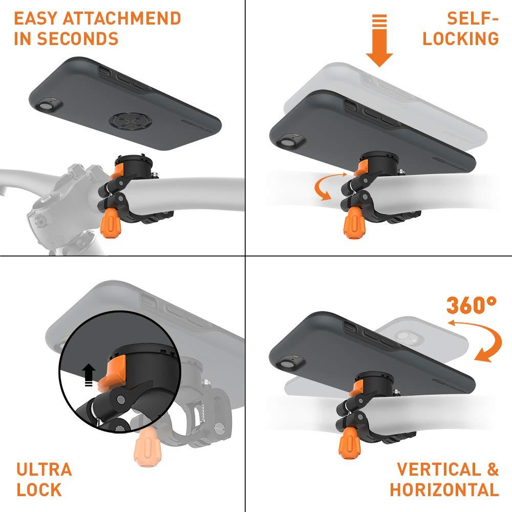 MORPHEUS LABS M4s BikeKit Soporte movil Bicicleta iPhone 7: Amazon.es: Electrónica