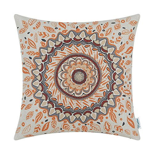 top 5 best throw pillow orange floral for sale 2017