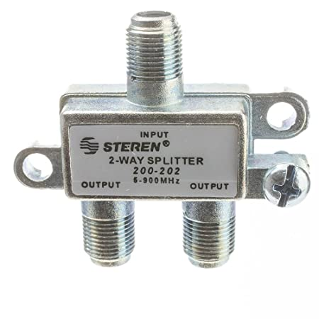 Review CableWholesale F-pin Coaxial Splitter,