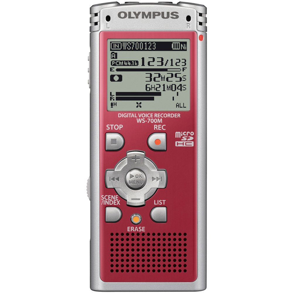 Olympus Ws 700m Digital Voice Recorder 142625 Blue Simple Telephone Electronics