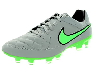 ddbc9d4e570 Nike Tiempo Legacy Firm Ground  Wolf Grey Black Green Strike  (6.5