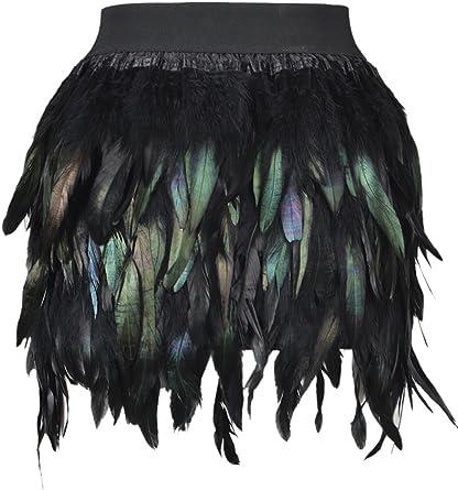 Choies - Falda - para mujer negro 38: Amazon.es: Ropa y accesorios