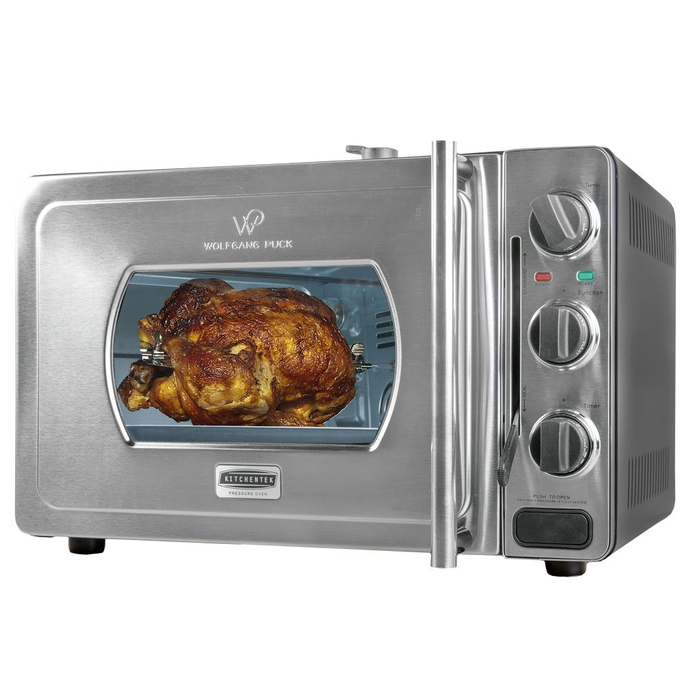 Wolfgang Puck Pressure Oven Rotisserie 29-Liter Countertop Oven Bundle Pack by Wolfgang Puck