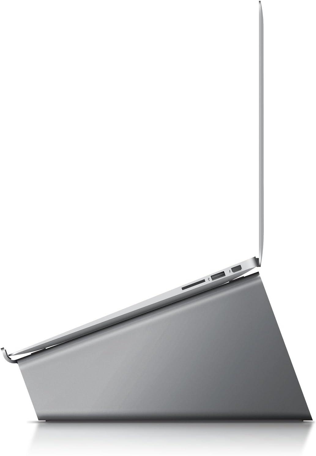 elago L4 Stand - [Desk Organization][Prevents Bad Posture][Natural Heat Sink] - for Laptop Computers (Dark Grey)
