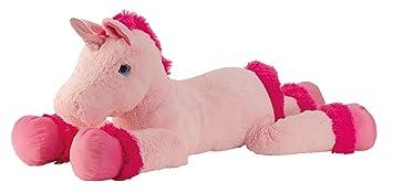 Lifestyle & More Gran Unicornio de Peluche Juguetes de Peluche de Color Rosa XXL 110 cm