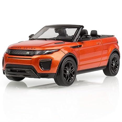 Range Rover Convertible >> Amazon Com Range Rover Evoque Convertible 1 43 Scale Model