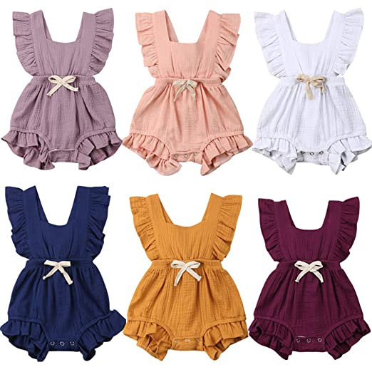 Girls' Clothing (0-24 Months) Next Girls Summer Romper Size Up To 3 Months Babygrows & Playsuits