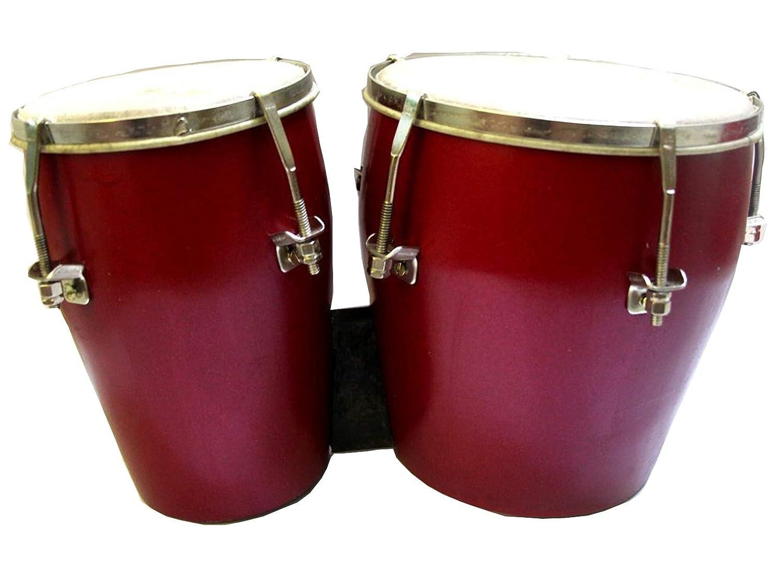 Makan Handmade Best Indian Sounds & Taal Professionals Bongo/Bongos Drum   B07QHH41W3