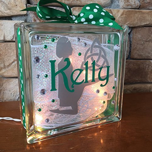 Irish Dance GemLight Personalized with Your Name and Colors