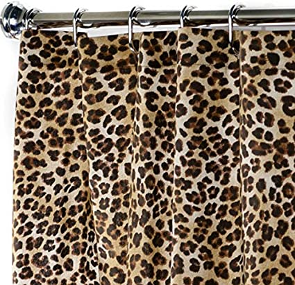 Image Unavailable Not Available For Color Extra Long Shower Curtain Black And Brown