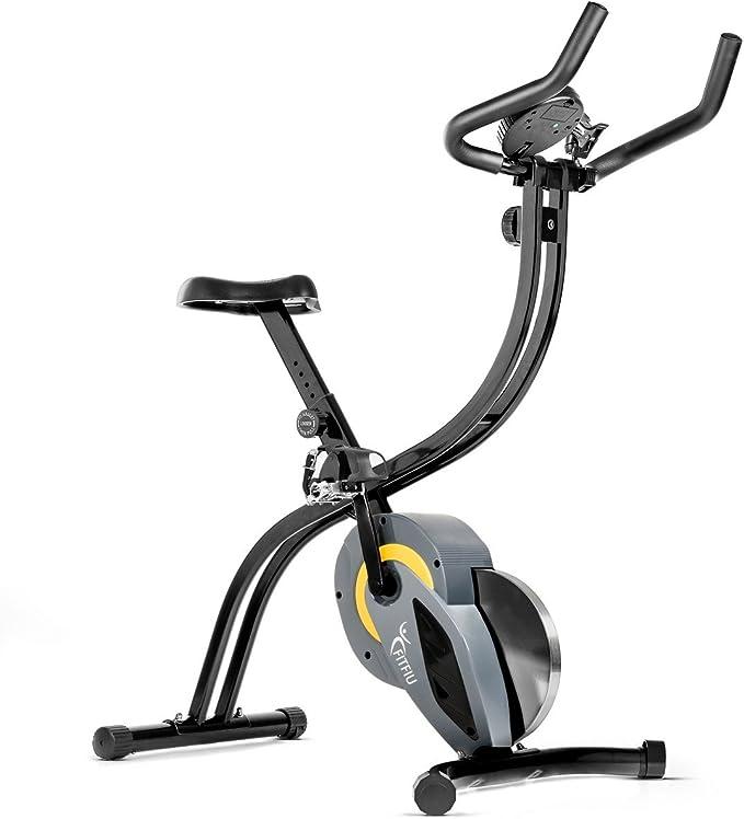 Bicicleta spinning plegable bici estatica regulable con volante ...