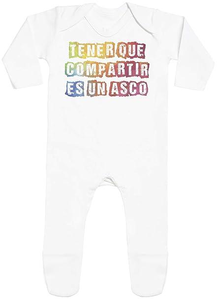 SR - Tener Que Compartir es un asco - with Feet - Peleles para bebé -