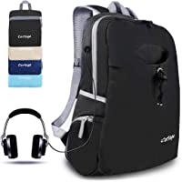 CORTEGE Lightweight Packable Backpack Durable Folding Travel Hiking Trekking Camping Cycling Foldable Backpack Ultralight Daypack Collapsible Backpack Outdoor Sport Water Resistant