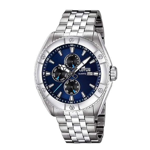 6752aafb6fa8 Reloj Lotus Multifunción 18160 2  Amazon.es  Relojes