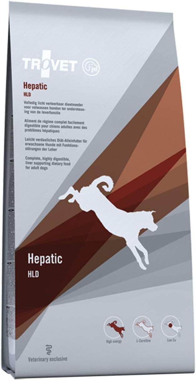 Trovet dieta perros hepatico dog HLD