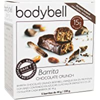 Bodybell Barritas Chocolate Crunch 5 Unidades