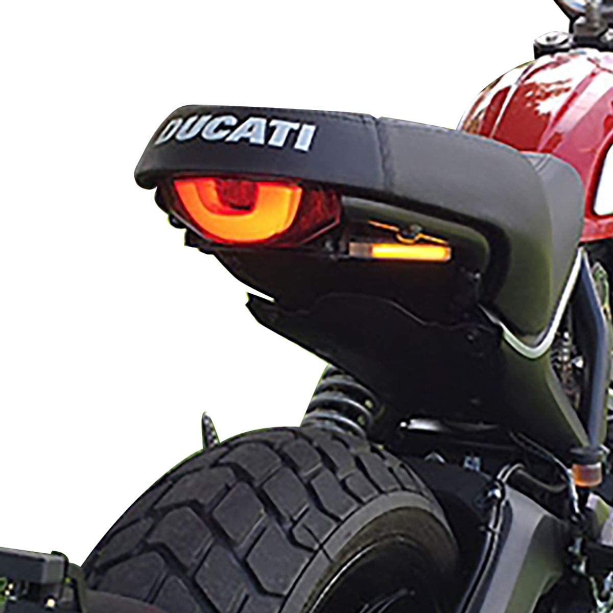 Ducati Scrambler Fender Eliminator Kit (Plate Light Bracket) - New Rage Cycles