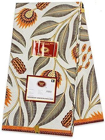 Ganze 6 Meter vlisco Java Holland Wachs Print 100% Baumwolle ...