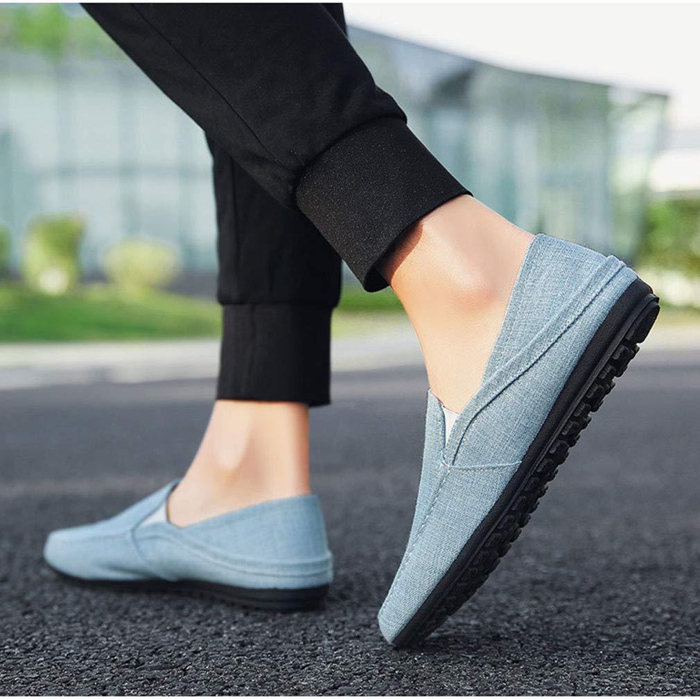 YAN Herrenschuhe Leinentuch Frühling Herbst Loafers & Slip-Ons 2018 2018 2018 Mode Freizeitschuhe Atmungs Gemütliche Fahr Schuhe (Farbe   Ein, Größe   40) cde821