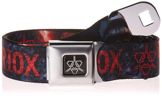 981637bf Amazon.com: Buckle-Down Men's Seatbelt Belt Kids, Halo Wars ATRIOX ...