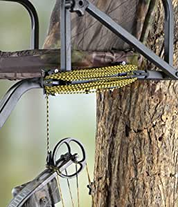 Pine ridge archery tree stand hook and hoist system hunting tree stand - Pinne dive system ...