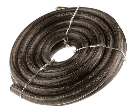 Cable 5 m de arranque negro para batería coche barco camión 170 A), 21