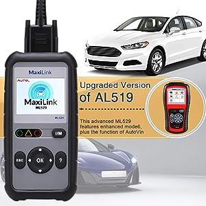 Autel ML529 best Nissan scan tool, code readers
