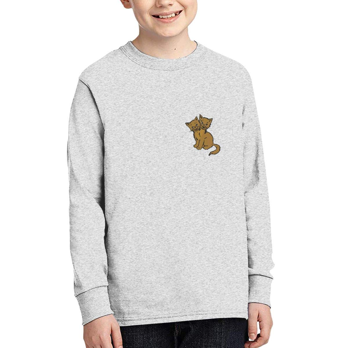 VIERYI Melvins Houdini Hond Logo Rock Band Heren Junior Long Sleeve T-Shirt Boys Korte Mouw Grappige Tee Shirts Black