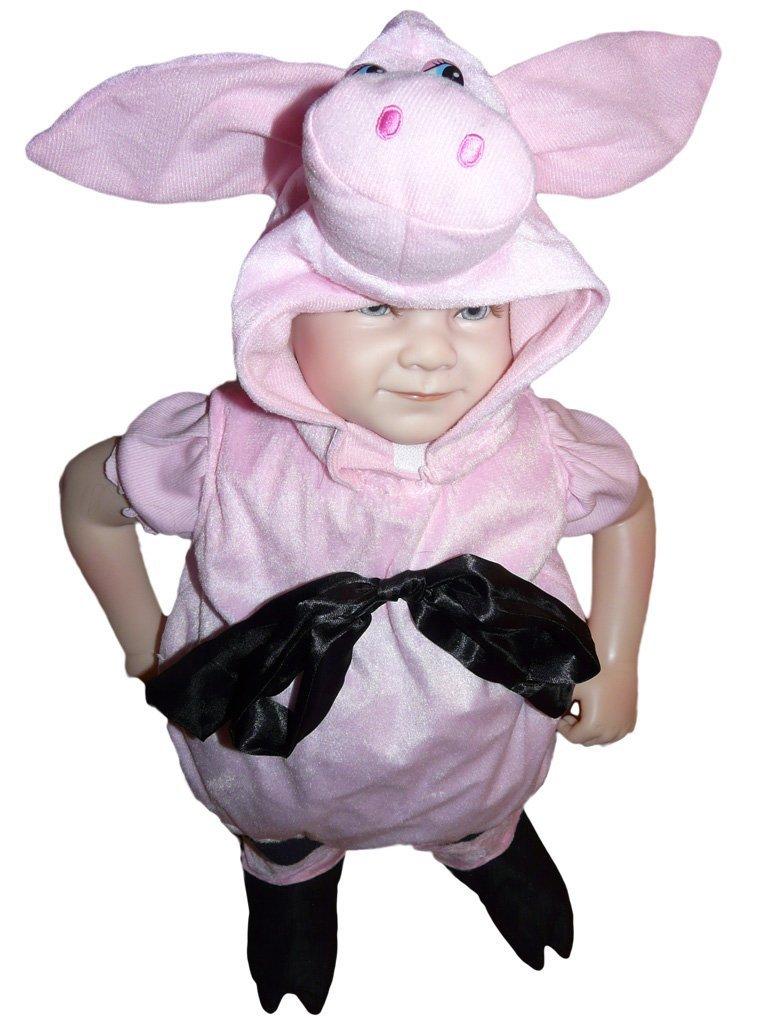Promoción por tiempo limitado SY29, tamaño de 3-6 meses (62-68 cm), cerdo guarro traje trajes cerdo del traje del carnaval