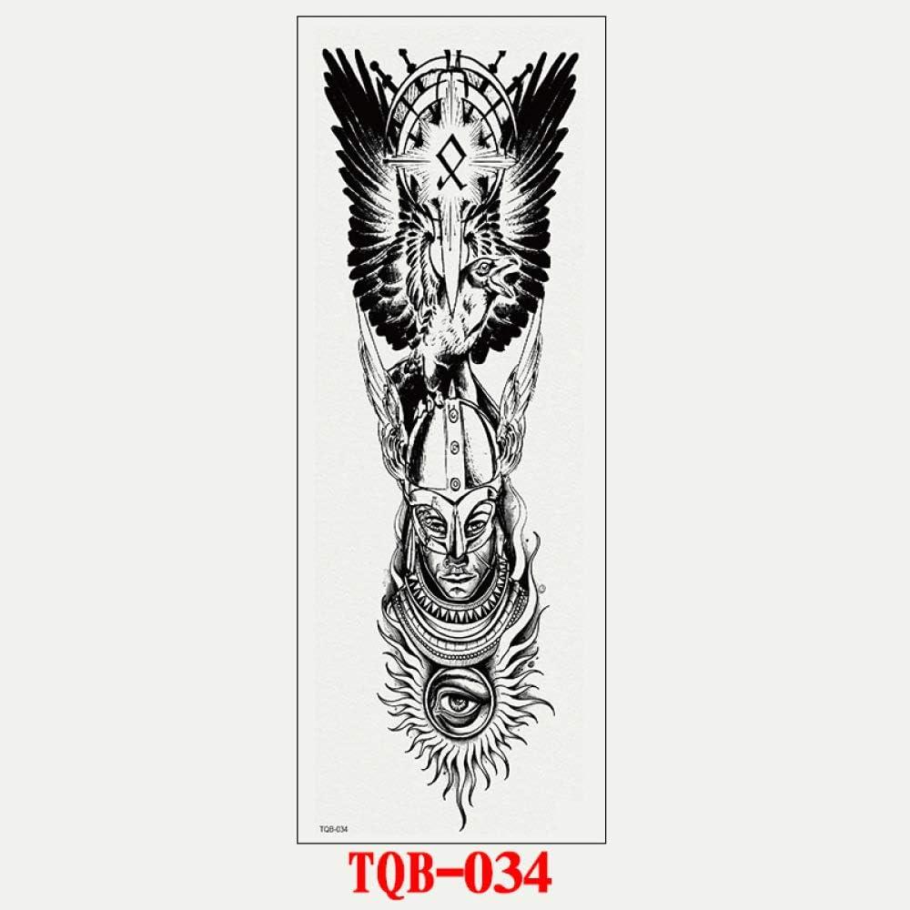 tzxdbh 5pcs Completa Armado Total Tatuaje Etiqueta engomada del ...