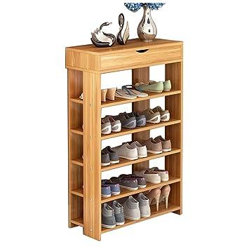 Dland Shoe Racks L24 T, 5 Tier U0026 1 Cabinet Storage Rack