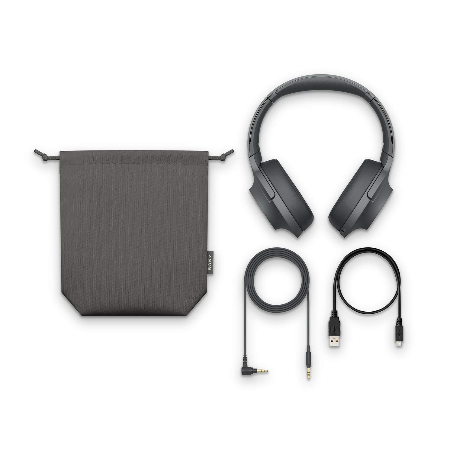 Sony Sony whh900n hear on 2 wireless overear noise cancelling high resolution headphones, 2.4 Ounce by Sony (Image #5)