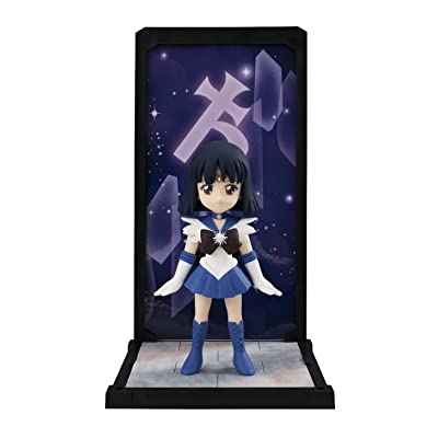"Bandai Tamashii Nations Tamashii Buddies Sailor Saturn ""Sailor Moon"" Statue: Toys & Games"