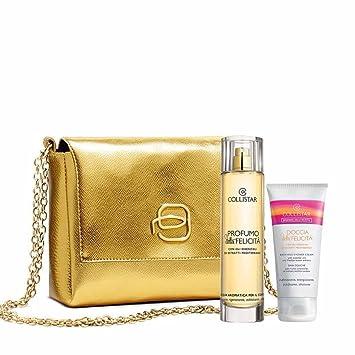 Amazon.com : Estuche Collistar Perfume de la Felicidad 100 ...