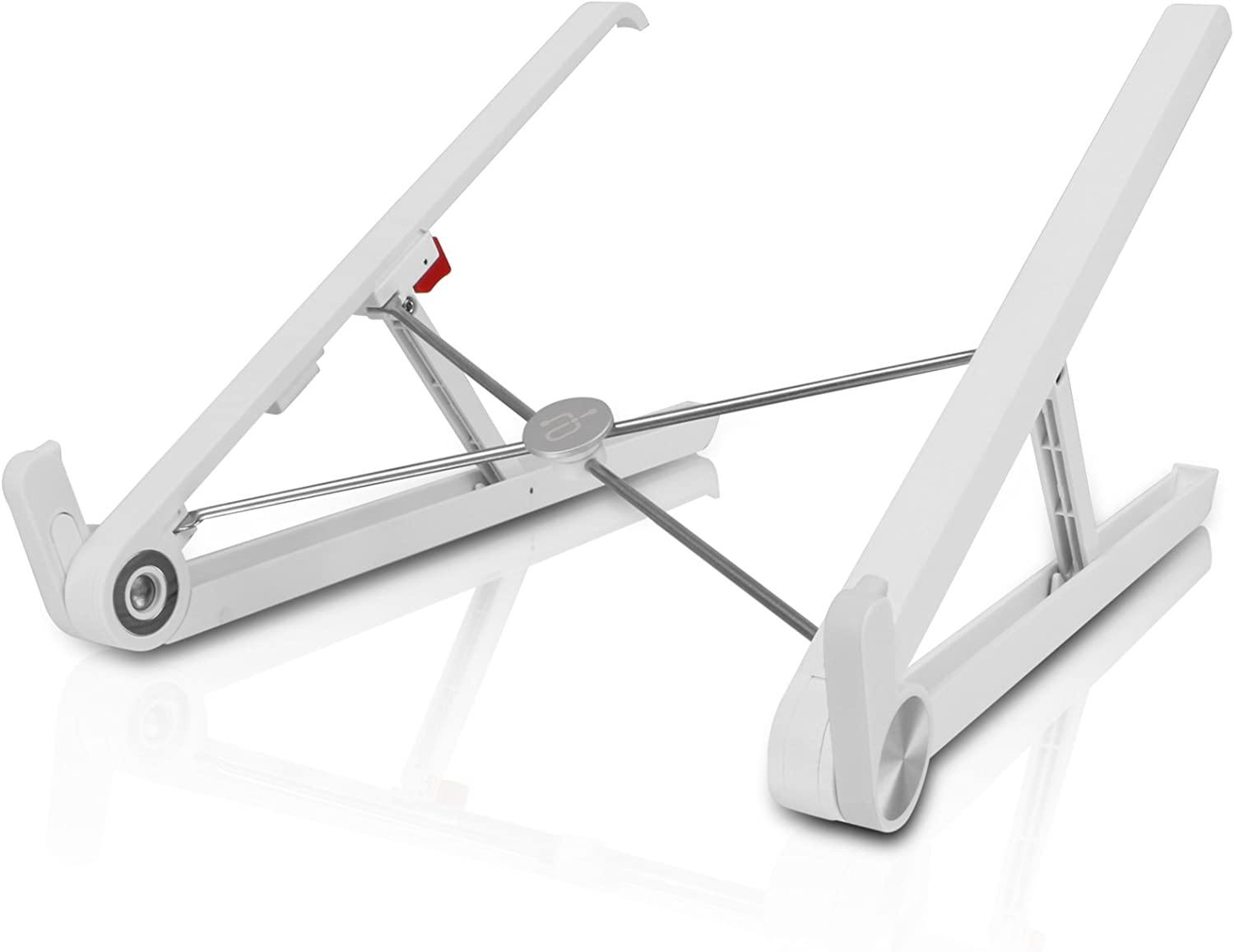 "Aluratek VLKH1S Laptop Stand for MacBook and PC Laptop, Aluminium Adjustable/Portable, Cooling Universal Stand for size 10""-17"" Screen Laptop"