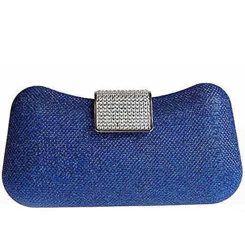 Belsen Wedding Navy Bags Clutch Evening Women's Blue Sequins ranC8wrq5x
