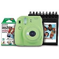 Kit com Câmera, Fujifilm, Instax Mini9, Verde Lima