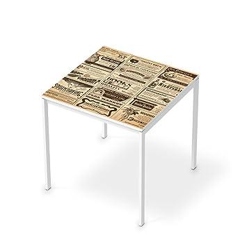 Creatisto Bedruckte Klebe Folie Für IKEA Melltorp Tisch 75x75 Cm | Möbel  Verschönern Möbelaufkleber Möbelfolie