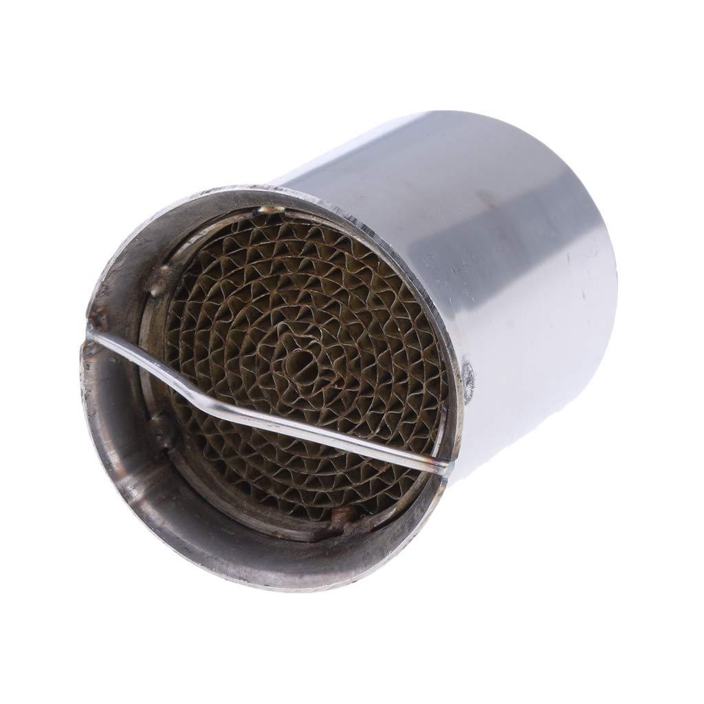 KESOTO Silenciador de Tap/ón de Tubo DB Killer de Acero Inoxidable de 51 mm