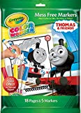 Crayola Thomas & Friends Color Wonder Mess Free Coloring Pages & Markers