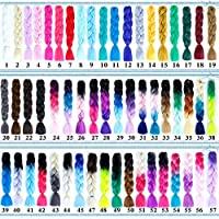 Jumbo braiding Hair Women Synthetic Hair Extension for Braids Braids Hair