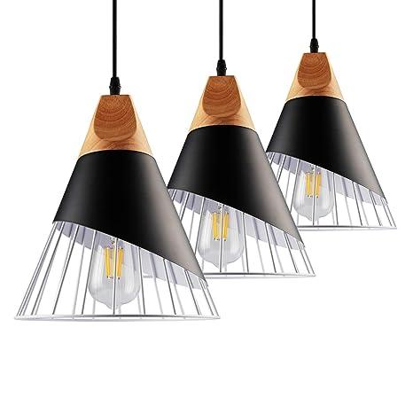 B2ocled Pendant Light Kit E26 E27 Lamps And Lighting Shade Metal Cage