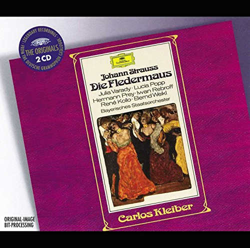 (J. Strauss - Die Fledermaus / Varady, Popp, Prey, Rebroff, Kollo, Weikl, Bayerischen Staatsorchester,)