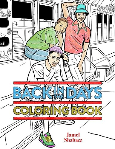 Back in the Days Coloring - 80s Fashion The Hop Hip In